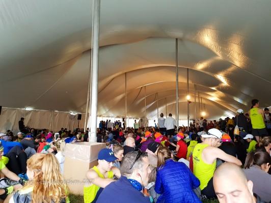 the TFK tent